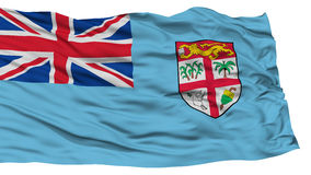 Isolated Fiji Flag Stock Images