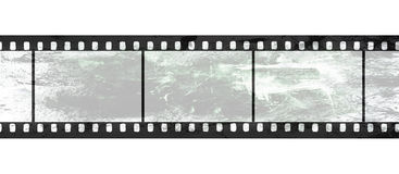 Isolated film negative on white background Stock Photo