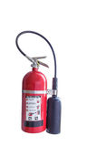 Isolated fire extinguisher on white Stock Photography