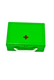 Isolated first-aid kit Stock Photo