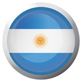 Isolated flag of Argentina Royalty Free Stock Images