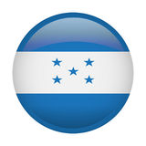 Isolated flag of Honduras Royalty Free Stock Photos