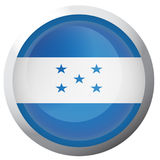 Isolated flag of Honduras Royalty Free Stock Photography