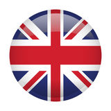 Isolated flag of the United Kingdom Stock Image