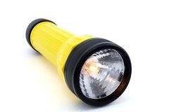 Isolated Flashlight Stock Photos