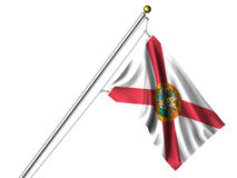 Isolated Florida Flag Stock Image