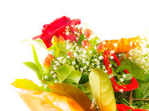 Isolated Flower Bouquet Stock Image