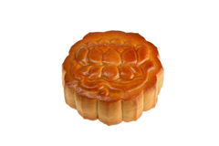 Isolated Flower Moon Cake Royalty Free Stock Image