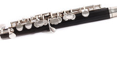 Isolated flute close up Royalty Free Stock Images