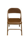 Isolated Folding Chair (clipping path) Royalty Free Stock Photo