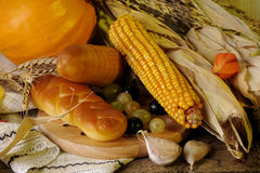 Isolated food and vegetable Royalty Free Stock Photos