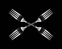 Kaleidoscopic fork Stock Photography