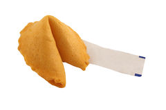 Isolated Fortune Cookie Blank Stock Images