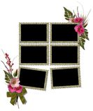 Isolated frames Royalty Free Stock Photo