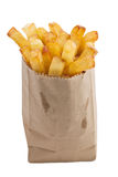 Isolated french fries Royalty Free Stock Photography