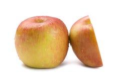 Isolated fresh apple fruit Royalty Free Stock Images