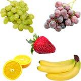 Isolated fresh fruit. On  white background Royalty Free Stock Images