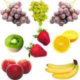 Isolated fresh fruit. On  white background Stock Images