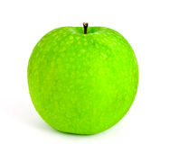Isolated fresh green apple Royalty Free Stock Photography