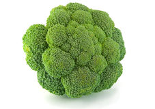 Isolated fresh green broccoli Royalty Free Stock Photos