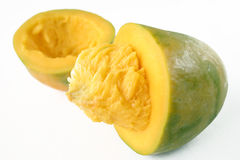 Isolated fresh mango fruit Royalty Free Stock Photography