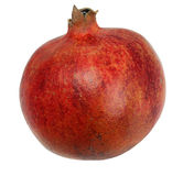Isolated fresh pomegranate Stock Image
