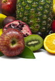 Isolated Fruit Composition Royalty Free Stock Photos