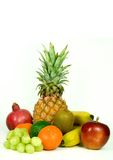 Isolated Fruit Mix Royalty Free Stock Image