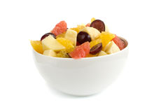 Isolated fruit salad Stock Photography