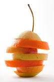 Isolated Fruit Sandwich Stock Images