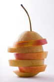 Isolated Fruit Sandwich Royalty Free Stock Images