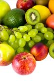 Isolated fruits Royalty Free Stock Photo