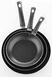 Isolated frying pan Stock Images