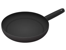 Isolated frying pan Royalty Free Stock Photos