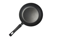Isolated frying pan Royalty Free Stock Image