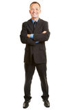 Isolated full body business man Royalty Free Stock Image