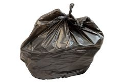Isolated garbage bag Royalty Free Stock Photo