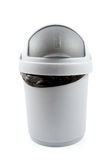 Isolated garbage bin Stock Photography