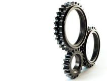 Isolated gears stock photos