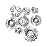 Isolated gears design Stock Images