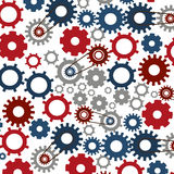 Isolated gears design Royalty Free Stock Images