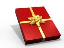 Isolated gift box Royalty Free Stock Image