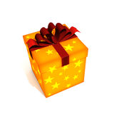 Isolated gift box Royalty Free Stock Image