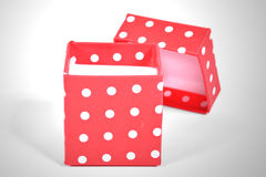 Isolated gift box Royalty Free Stock Photos
