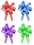 Isolated gift ribbons Stock Image
