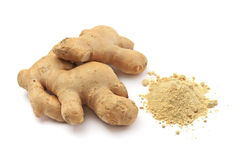 Isolated ginger Stock Images