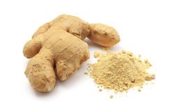 Isolated ginger Royalty Free Stock Photography