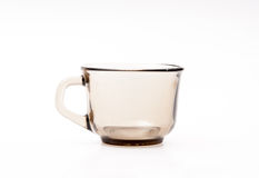 Isolated glass cup Royalty Free Stock Photography