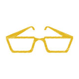 Isolated glasses design. Glasses icon. Fashion style accessory and eyesight theme. Isolated design. Vector illustration Stock Photo