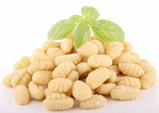 Isolated gnocchi Royalty Free Stock Images